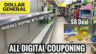 PANDEMIC COUPON SHOP WITH ME | Dollar General $5/25 Household Deal | All