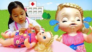 泣かないでベビー!お熱が出ちゃったよ;;Baby Alive himawari-CH thumbnail