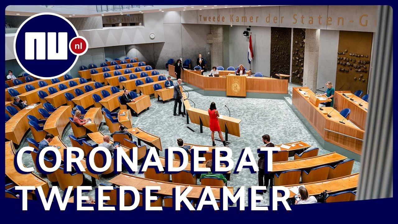 Download LIVE: Tweede Kamer debatteert over coronamaatregelen | NU.nl
