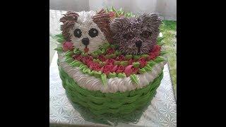 Украшение - Кремовый тортик.