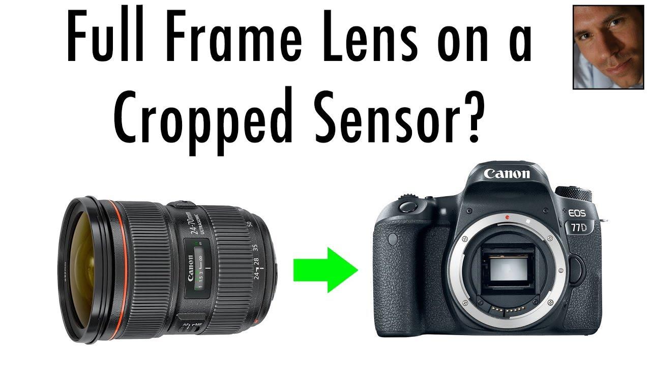 Full Frame Lens Sharpness on Crop Sensor Bodies | Resolving Power of ...
