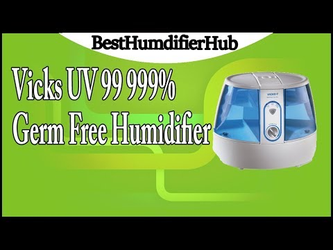 Vicks UV 99 999% Germ Free Humidifier Review