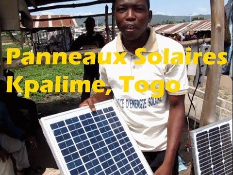 Ewe Kabye Language Panneaux Solaires Kpalime, Togo  #panneauxsolaires #solarpanels