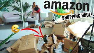 AMAZON SHOPPING HAUL (decorating my office) | jasmeannnn