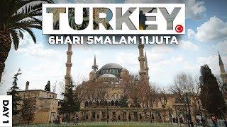 KAGUM LIHAT MASJID TERTUA DAN SEJARAH ISLAM DI TURKI (LIBURAN PUAS KE TURKEY CUMA 11 JUTA) - DAY 1