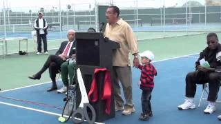 Grand Re-Opening of the Arthur Ashe Tennis Center of L.A. (Part One)
