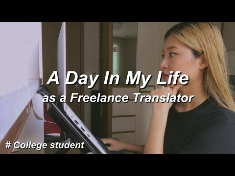Working Vlog 2 | What Do I Do As A Freelancer Translator? Upwork Self Promotion
