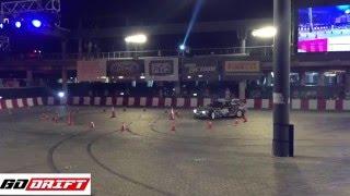 Shahab Pishanidar Redbull Car Par Drift 2015 Dubai Qualifying