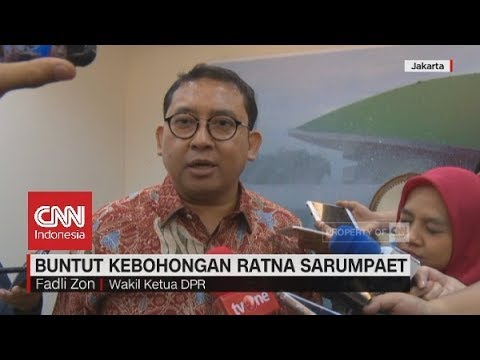"Fadli Zon ""Ancam'' Polisikan Balik yang Berani Laporkan Dirinya Terkait Hoaks Penganiayaan Ratna"