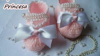 Diy – Sapatinho Princesa – Crochê Fácil e Rápido – Graça Tristão