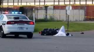 Motorcycle fatal South Houston on Highway 3 @ Virginia Avenue