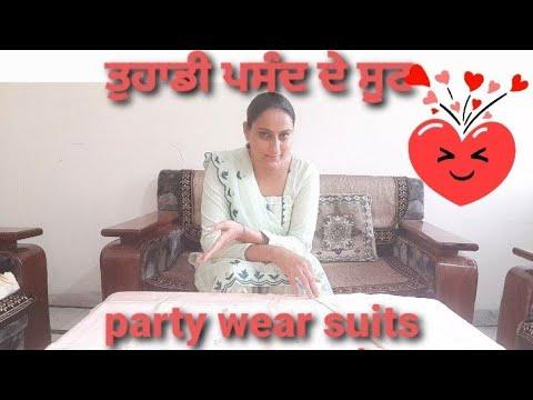 ਲਓ ਜੀ ਬਹੁਤ ਸਾਰੀ demand ਤੇ #party#wear #handwork#suits#farmer#june#