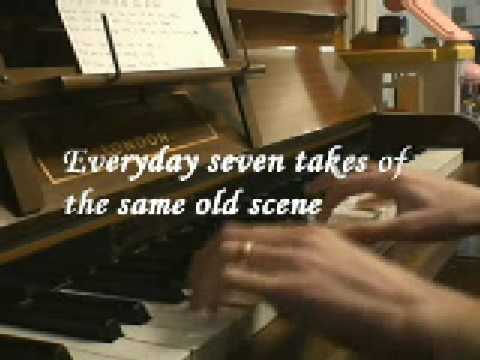 Pussycat Dolls - I hate this part, piano with lyrics