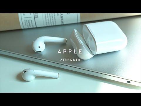 애플 에어팟(AirPods) 2세대 충전 케이스 모델 언박싱