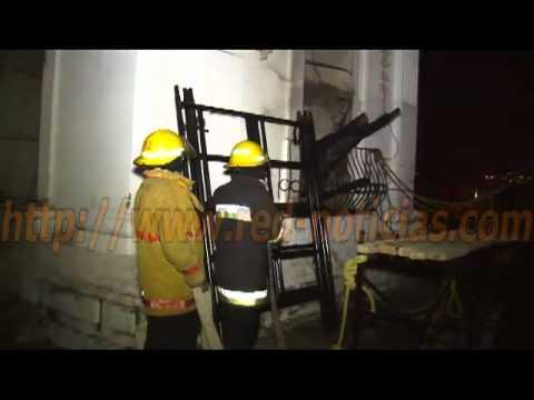 RED Noticias - Incendio en la catedral de Santa María de la Asunción