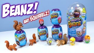 Mighty Beanz Return Unboxing Review Moose Toys