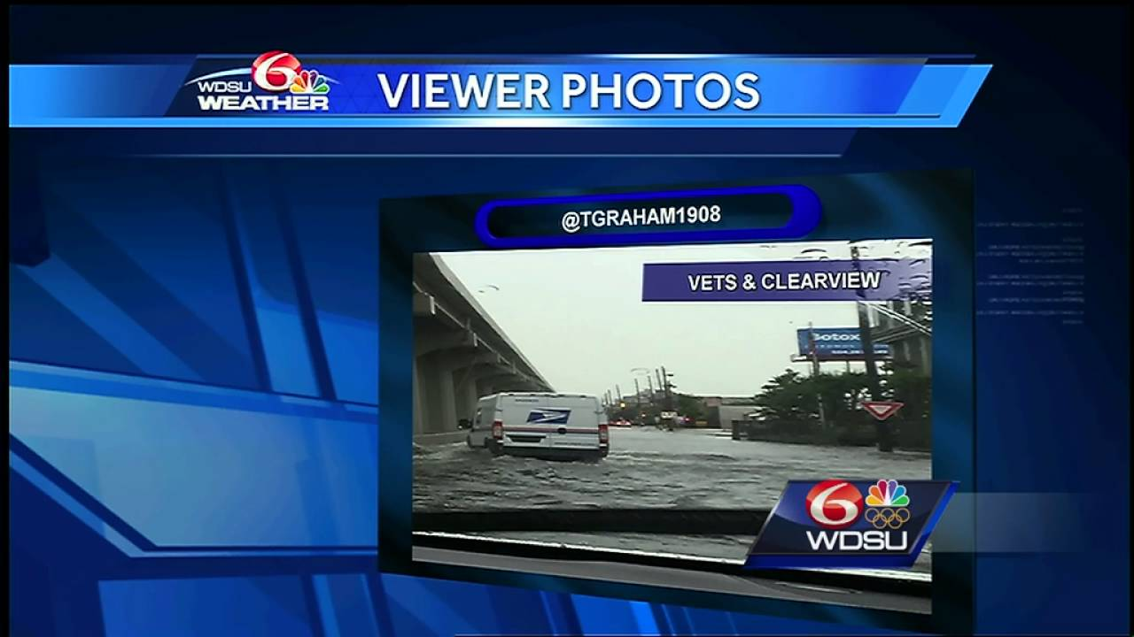 Viewers submit photos of severe weather Saturday (4/30) across SELA