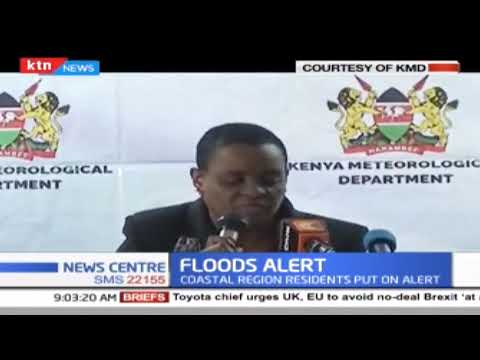 Kenya Meteorological Department: The following areas to experience heavy floods