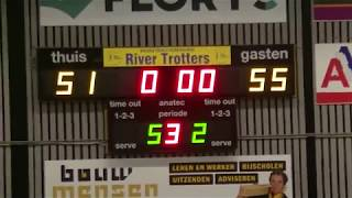 9 march 2019 Rivertrotters MSE2 vs Punch MSE3 68-73 3rd period