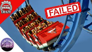FAILED Roller Coasters: Flashback at Six Flags Magic Mountain (Feat. Airtime Thrills)