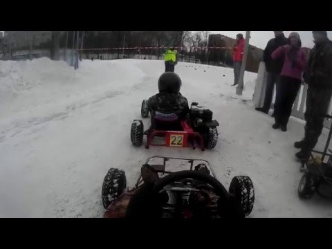 Кубок Рязани по картингу 10.01.2015