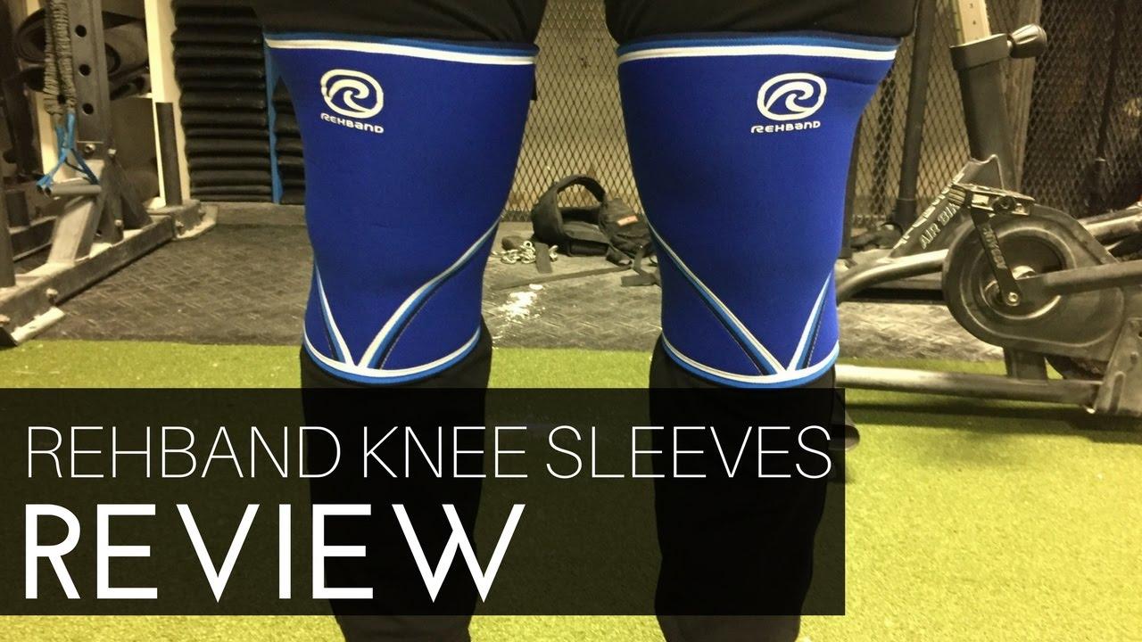 728aeea528 Rehband 7mm Knee Sleeves Review - YouTube