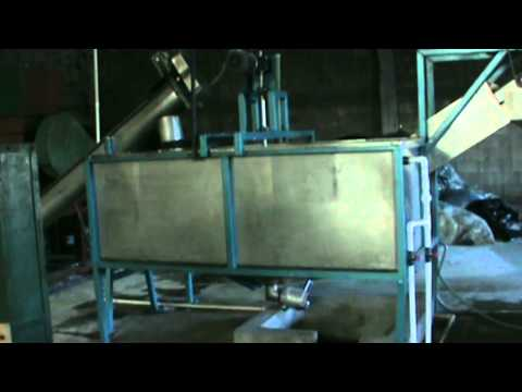 Bags, Film, Sheet, high and low density polyethylene washing and drying Line