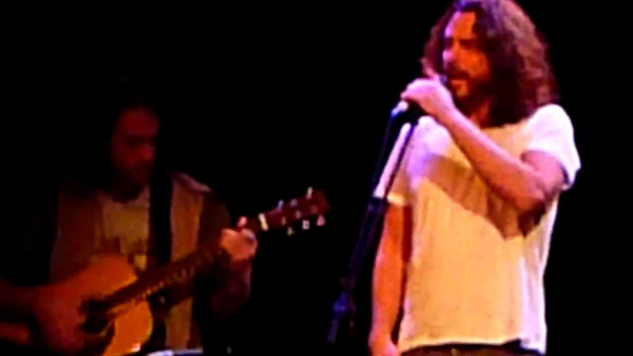 Chris Cornell performs Sunshower with Eddie in Indianapolismov  YouTube # Sunshower Song_055027