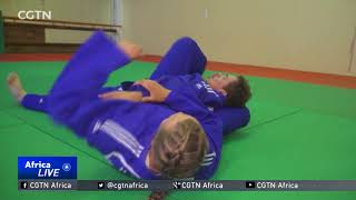 South Africa's Snyman eyes gold in Morocco at the World Judo Championships