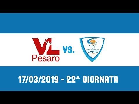 22^Giornata: VL Pesaro - Acqua S.Bernardo Cantù 72-80