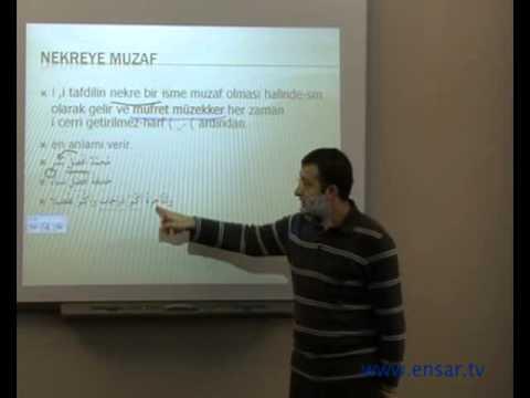 Arapça Dersleri - 02 - İsmi Tafdil 2