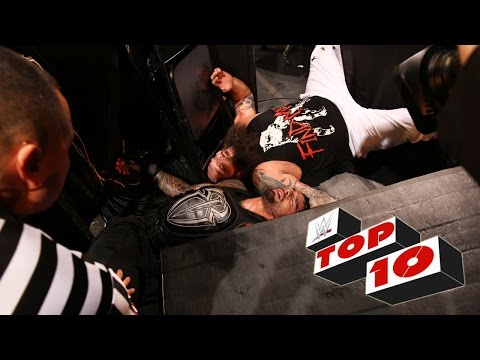 Top 10 Raw moments: WWE Top 10, September 28, 2015