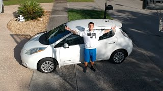 2013 USED Nissan LEaF S REVIEW: Soon To Be A Tree!