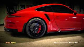 Need for Speed 2015 Porsche 911 GT3 RS (991) 2015 Build (Drift) #1