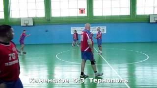 Гандбол. Тернополь - Каменское - 13:16 (1-й тайм). Открытый чемпионат г. Хмельницкого