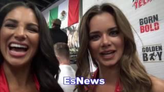 Why So Many Ladies Love Canelo Alvarez - EsNews Boxing