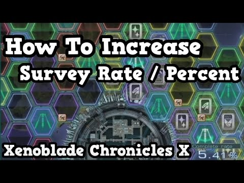 How To Increase Survey Rate / Percent - Xenoblade Chronicles X