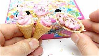 Kracie Popin Cookin Ice Cream Cone DIY Japanese Candy Making Kit