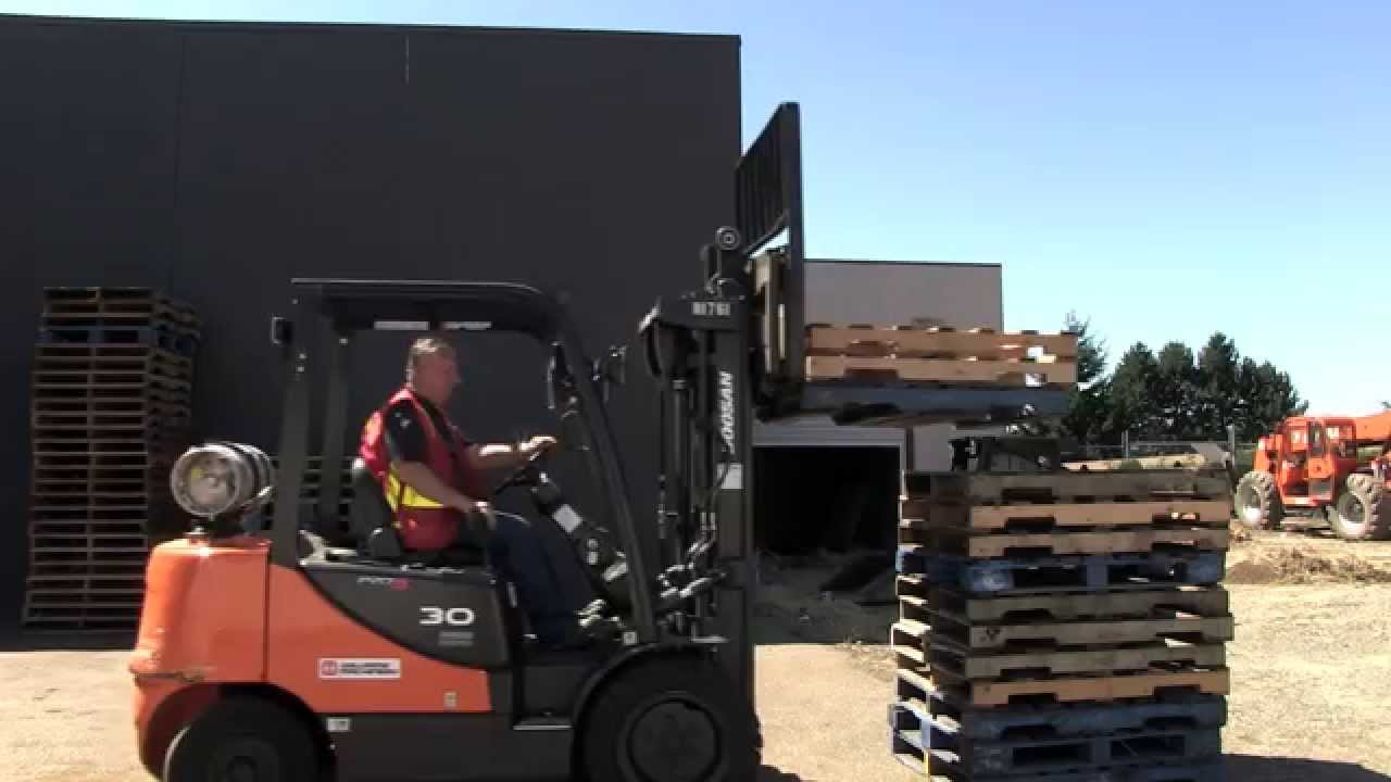 4 prong forklift 2003 pontiac sunfire radio wiring diagram sit down counterbalanced moving a load youtube