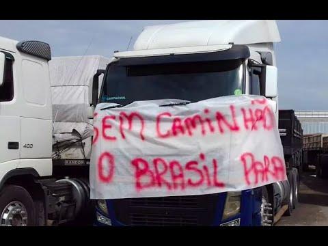 Governo Bolsonaro amarelou diante da ameaça dos caminhoneiros