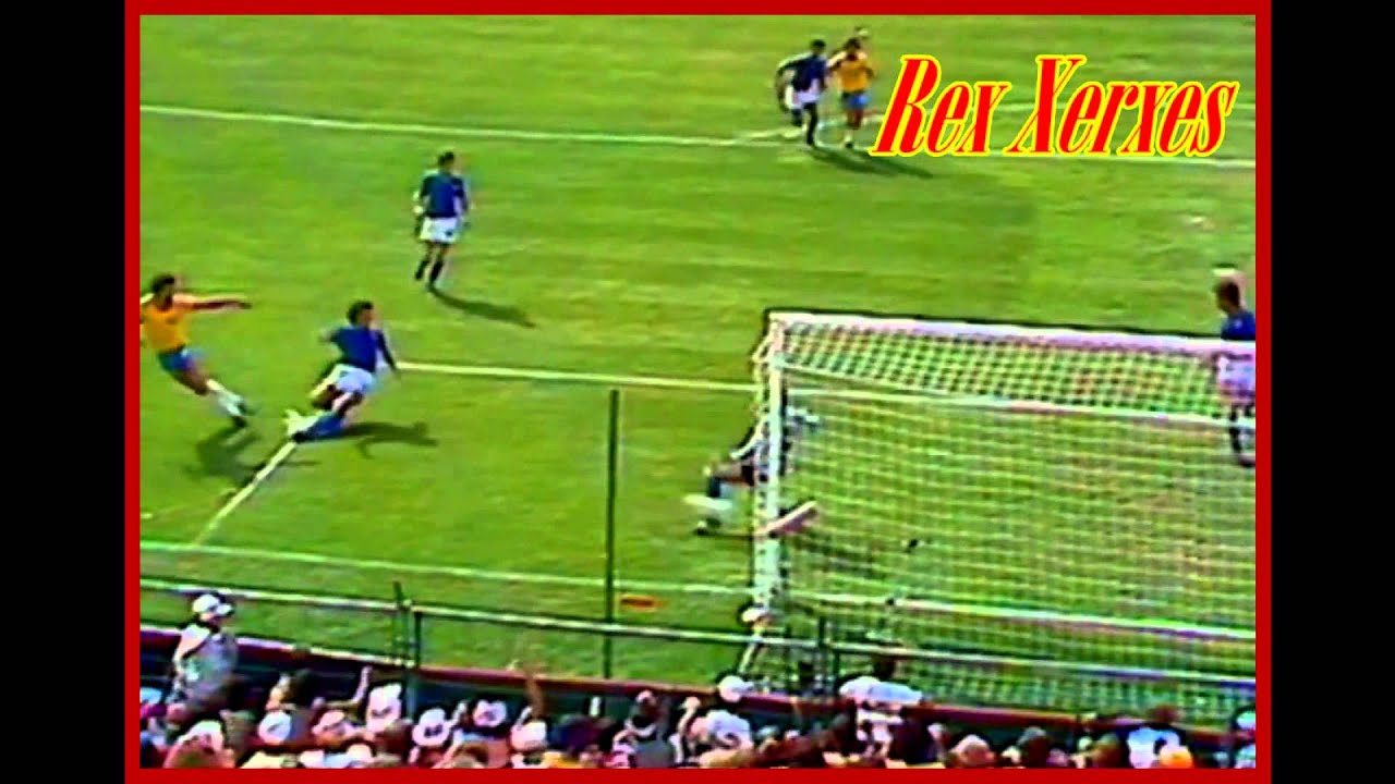 Brazil Vs Italy 1982 W Cup Socrates Goal HD