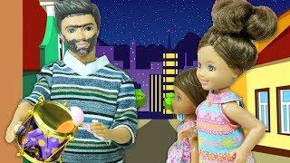 Barbie ve Ailesi Bölüm 201   Ramazan Davulcusu   Çizgi film tadında evcilik oyunları