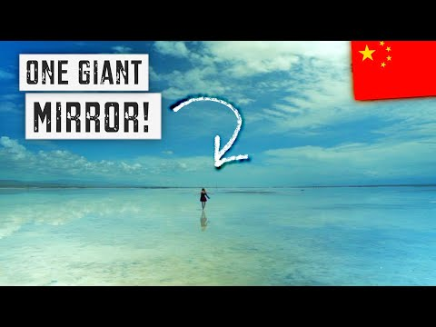 CHAKA SALT LAKE: China's Incredible MIRROR OF THE SKY! | Qin