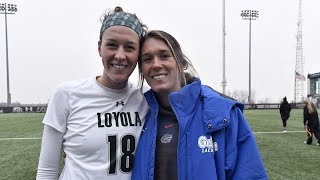 VanThof legacy at Loyola grows as Taylor writes her own story