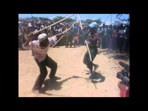 South African Underground Stick-Fighting
