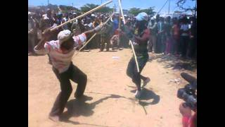 South African Underground Stick-Fighting