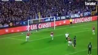 Wayne Rooney  Goal [ 0 - 1] Club Brugge VS Manchester United  ( 26.08.2015 )