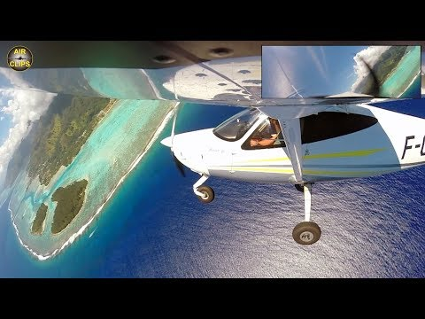 Disney's Moana in Sight? Tahiti ULTIMATE Views, STUNTS & Outboard Cam [AirClips full flight series]