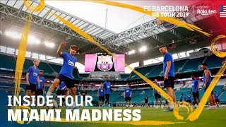 FIRST TRAINING SESSION... AND INSANE PARTY IN MIAMI | Inside Tour USA 2019 #2