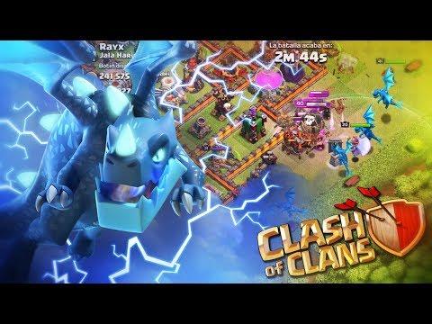MI PRIMER ATAQUE CON DRAGONES ELÉCTRICOS ¡¡ LA NUEVA TROPA !! | Clash of Clans
